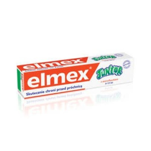 COLGATE-PALMOLIVE ELMEX Junior 6-12 lat Pasta Do Zebow 75ml