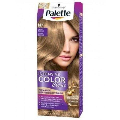 SCHWARZKOPF PALETTE- Intensive Color Creme Maksymalny Blask N7 Jasny Blond