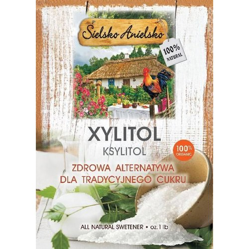SIELSKO ANIELSKO Xylitol- Ksylitol 1lb