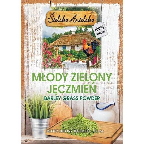 SIELSKO ANIELSKO Mlody Zielony Jeczmien Sok w Proszku 8.0 oz