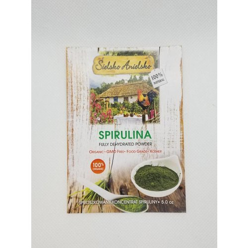 SIELSKO ANIELSKO Spirulina Fully Dehydrated Powder 5.0 oz