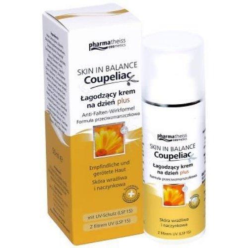 DR. THEISS NATURWAREN GMBH COUPELIAC- Skin In Balance Lagodzacy Krem na Dzien Plus Formula Przeciwzmarszczkowa 50ml