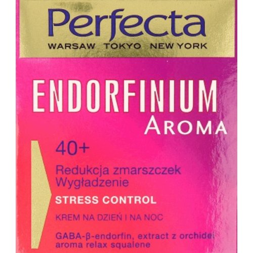 DAX COSMETICS PERFECTA-  Endorfinium Aroma Stress Control 40+ Krem Na Dzien i Noc 50ml