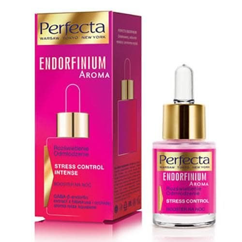 DAX COSMETICS Perfecta, Endorfinium Aroma Stress Control Intense Serum na dzien 15ml