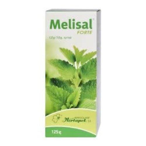 HERBAPOL MELISAL Forte 1,0g/10g Syrop 125g