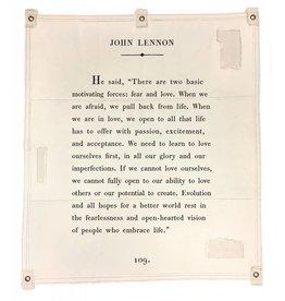 "Sugarboo & Co John Lennon Tarp 46""x57"""