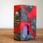 Broadside Mods Stabilized Wood Single 18650 Squonk Box Mod
