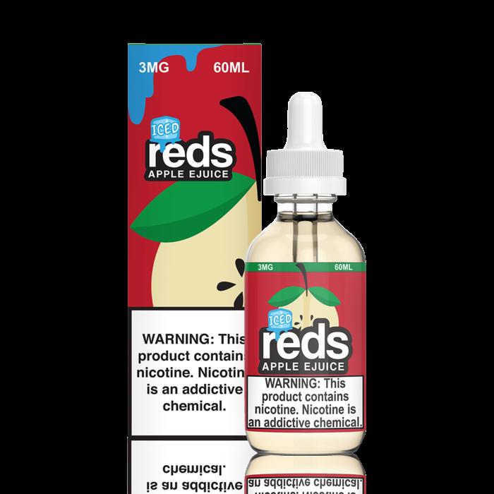 7 Daze Red's Apple ICED 60 ml Bottle