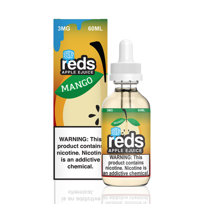 7 Daze Reds Apple ICED 60 ml Bottle