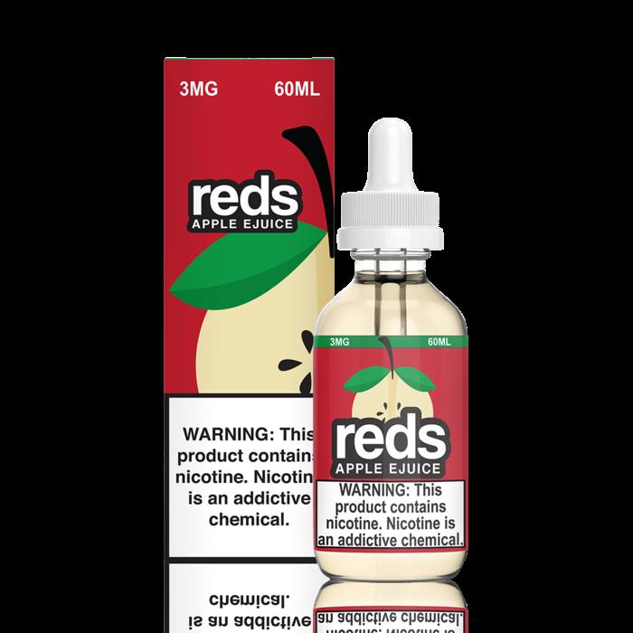 7 Daze Red's Apple 60 ml Bottle