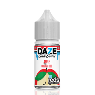 7 Daze 7 Daze Red's Salt on ICE 30 ml Bottle