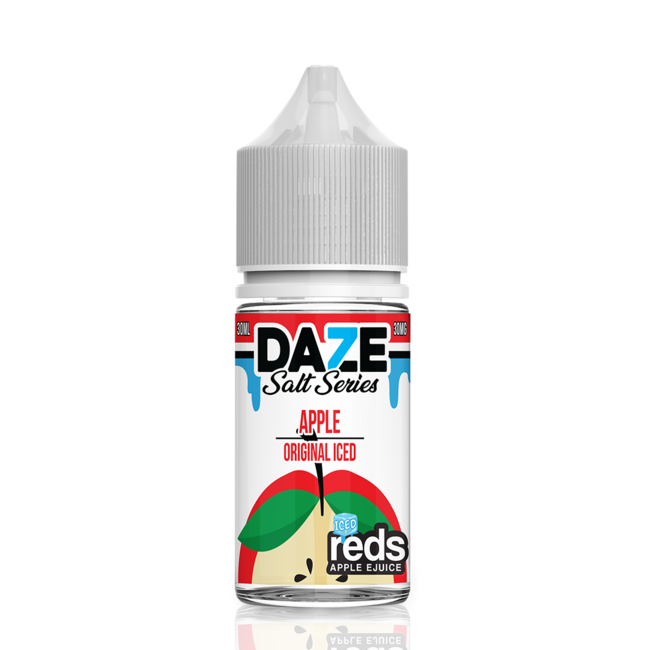 7 Daze 7 Daze Reds Salt on ICE 30 ml Bottle