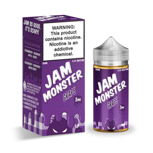Jam Monster 100 ml Bottle
