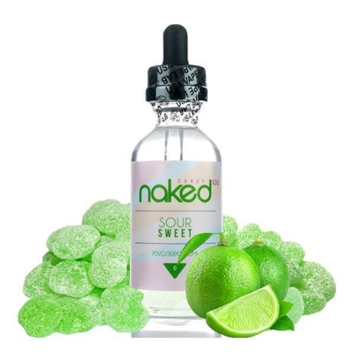 Naked 100 Candy/Fusion 60 ml Bottle