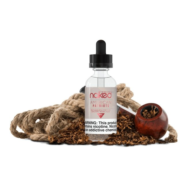 Naked 100 Tobacco 60 ml Bottle