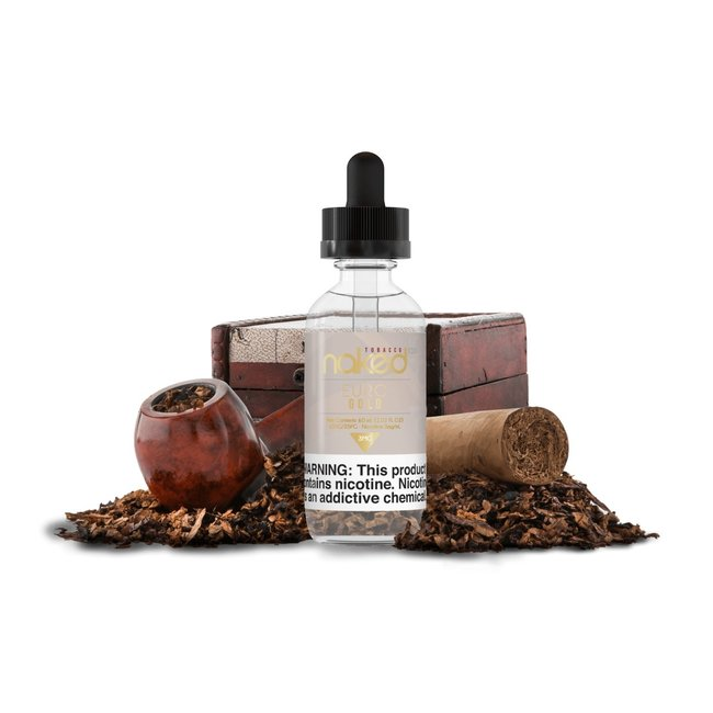 Naked 100 Tobacco Euro Gold Premium Vape Juice | eJuice Direct