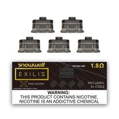 Snow Wolf Exilis 5pk Xpod Coils