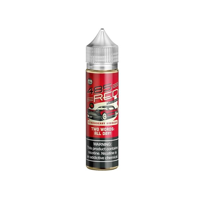 485 Red 485 Red E-Liquid Strawberry Hibiscus 60ml