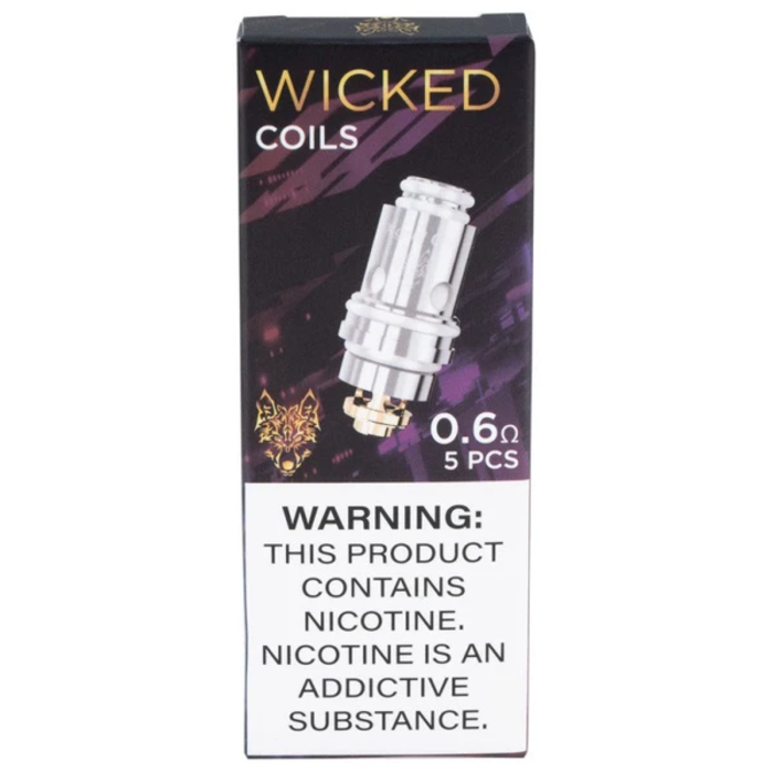 SnowWolf Wicked 0.6 coils 5pk for AFeng