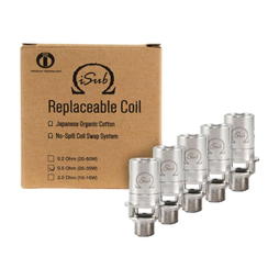 Innokin iSub 5 Pack Replacement Coils
