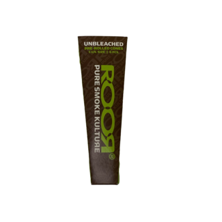 ROOR ROOR Unbleached Pre-Rolled 1 1/4 Cones 6 Pack