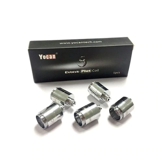 Yocan Yocan Evolve 5 Pack Replacement Coils Quartz