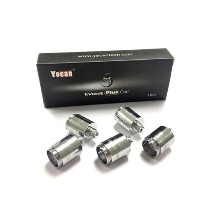Yocan Evolve 5 Pack Replacement Coils Quartz