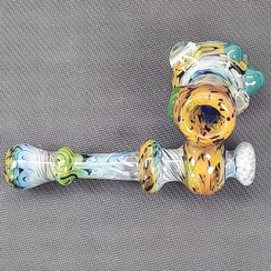 """Mountain Jam 5.5"""" Fumed with Marble Cobalt Sidecar"""