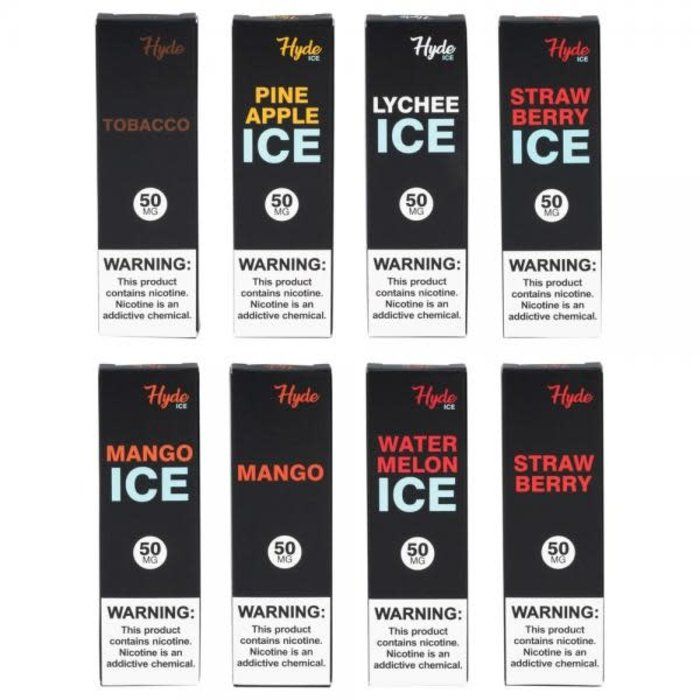 Hyde Disposable Single Device 5% Nicotine 1.8ml