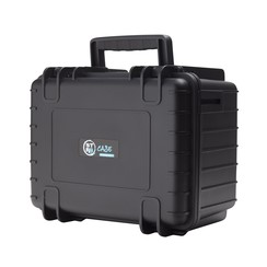 "STR8 Case 10"" with 2 Layer Pre-Cut Foam Insert Onyx Black"