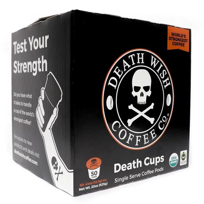 Death Wish Coffee Co 50ct K Cups