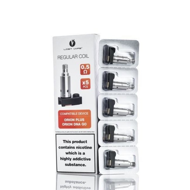 Lost Vape Lost Vape Orion DNA Plus Replacement Coil 5 Pack -