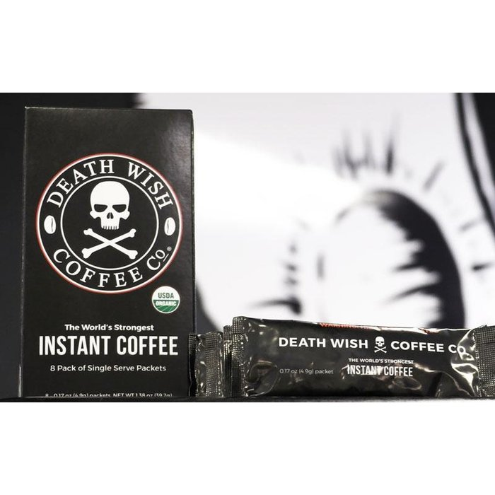 Death Wish Instant Coffee 8pk