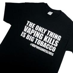 Vaping Kills T-shirt