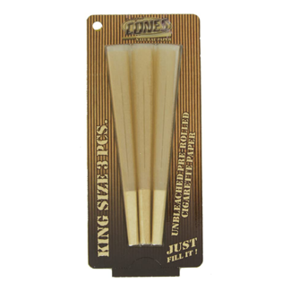 Cones Natural King Size Blister Pack - 3 Per Pack