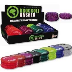 Broccoli Basher Plastic Grinder