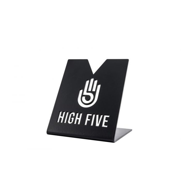 High Five Matte Black Coil Stand