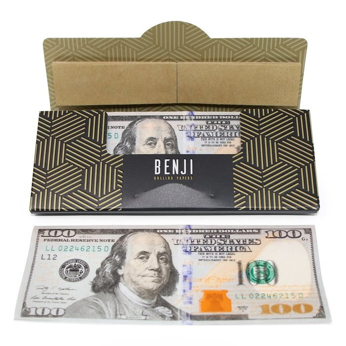 Benji $100 Rolling Papers