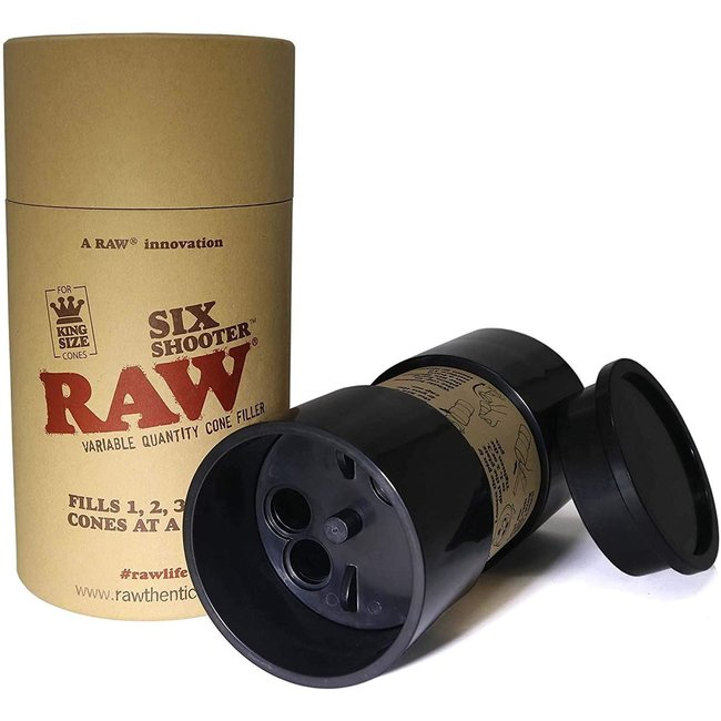 Raw Six Shooter Cone Filler - 1 1/4 Size