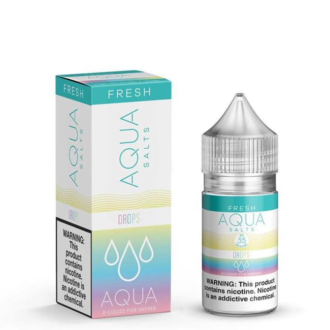 Aqua Salt Nicotine 30 ml Bottle