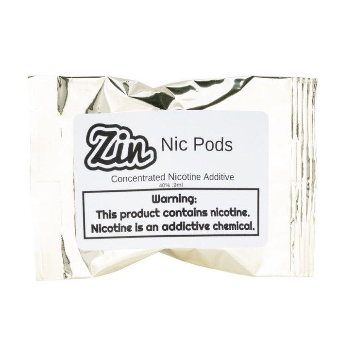 Zin 40% Nicotine Pods Single Pack