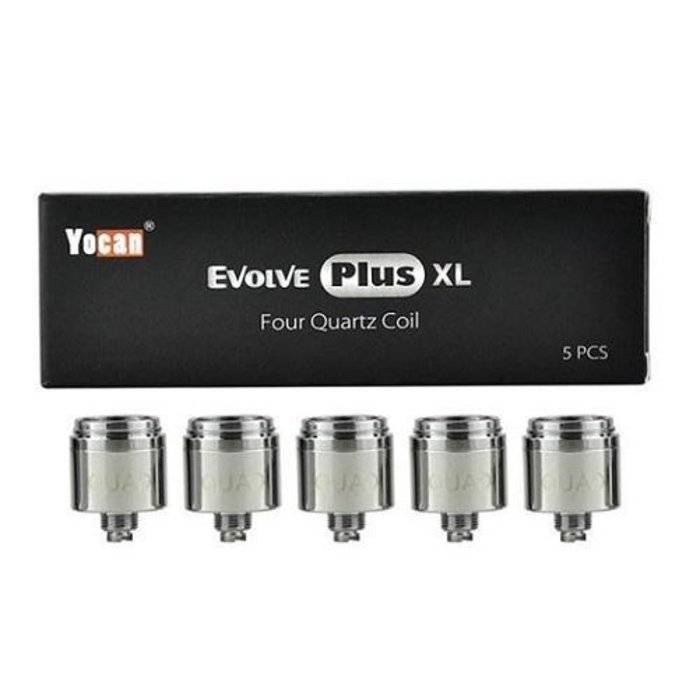 Yocan Plus XL Quad Quartz 5 Pack Replacement Coils