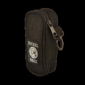 "Nickel Bags Nickel Bags Black 5"" Zippered Pouch"
