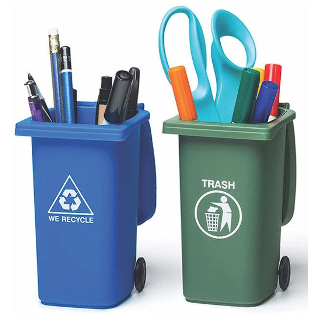 Mini Trash Can Q-Tip Storage