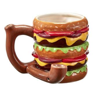 Roast and Toast Roast and Toast Mug Large Cheeseburger