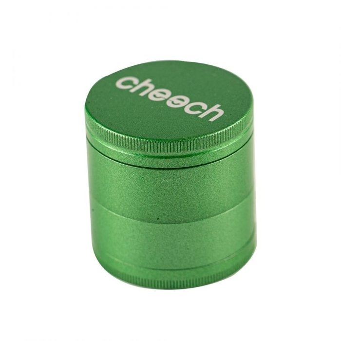 Cheech Glass 4 Piece Grinder Green
