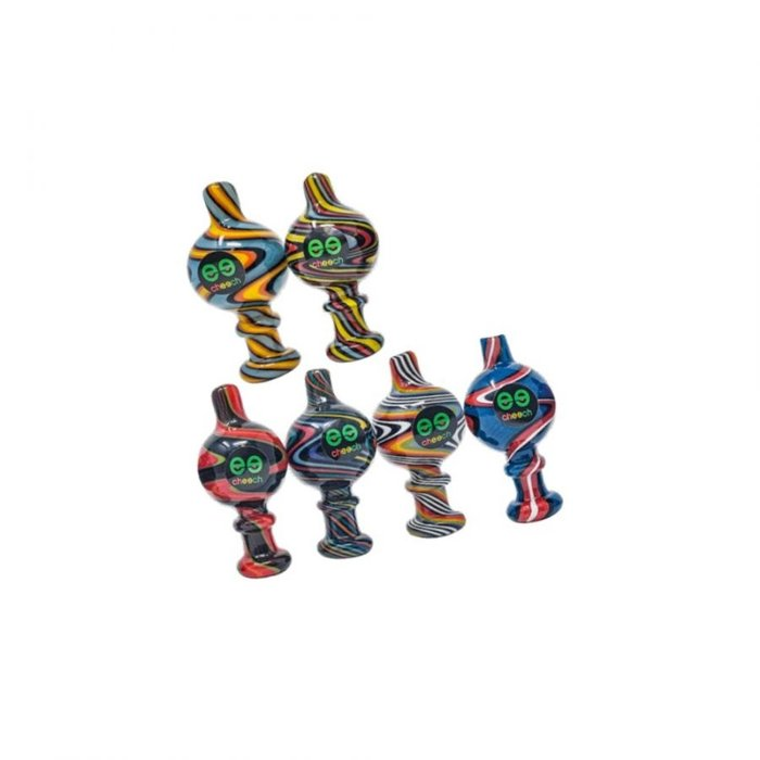 Cheech Glass American Color Carb Cap Assorted