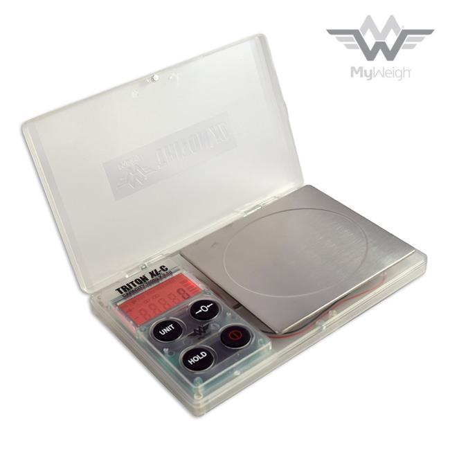 MyWeigh Triton XL-C Clear Scale