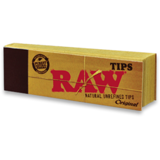 Raw RAW Unbleached Roll-Up Tips 50 ct