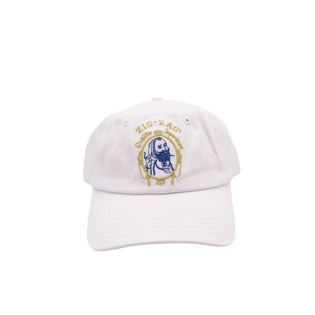 Zig-Zag Classic Hat White